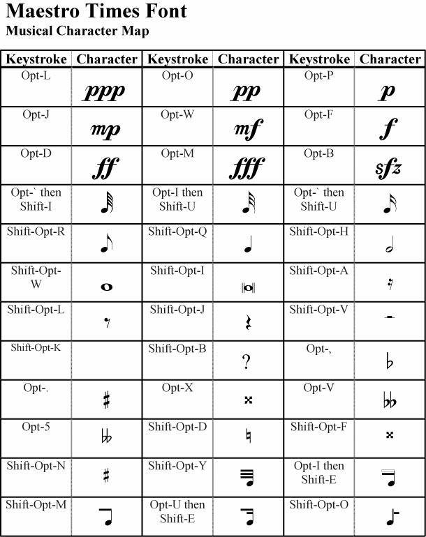 Maestro Font