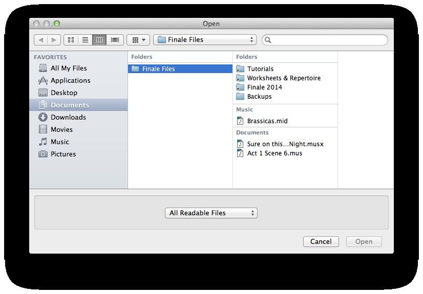 Open/Save File dialog box