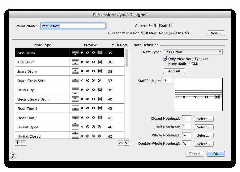 percussion layout designer dialog box rh usermanuals finalemusic com